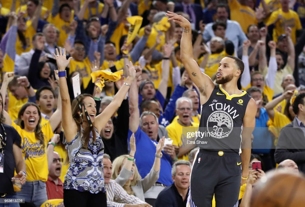New Orleans Pelicans v Golden State Warriors - Game Two : News Photo