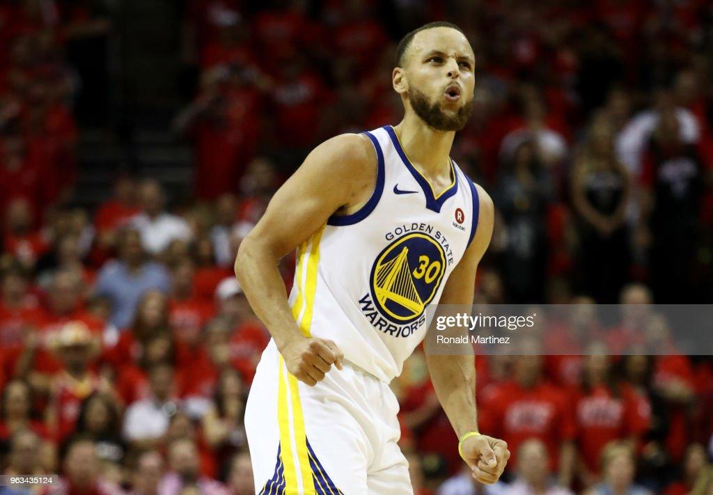 Golden State Warriors v Houston Rockets - Game Seven : Fotografía de noticias