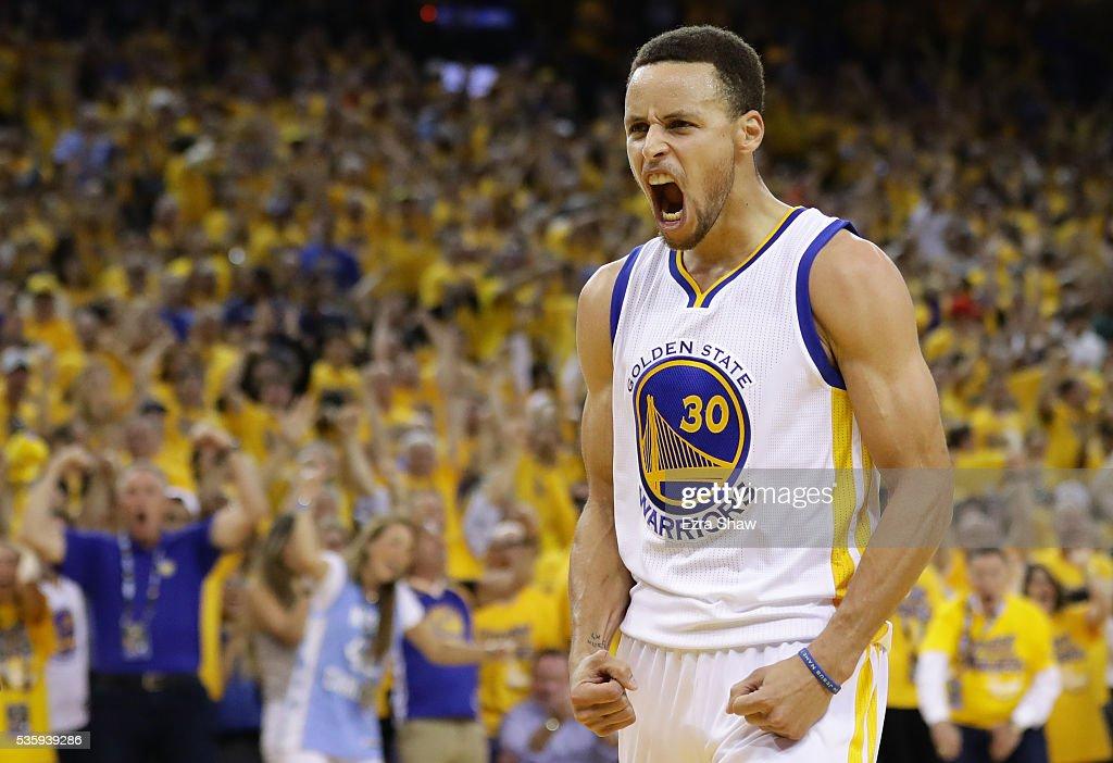 Oklahoma City Thunder v Golden State Warriors - Game Seven : News Photo