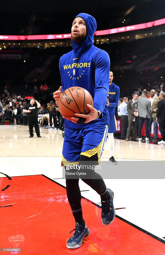 OR: Golden State Warriors v Portland Trail Blazers - Game Three