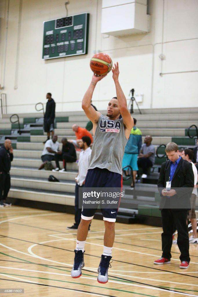 2014 USA Basketball - Chicago : News Photo