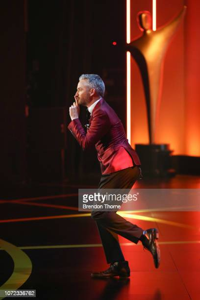 Stephen Curry performs on stage during the 2018 AACTA Awards Presented by Foxtel at The Star on December 5 2018 in Sydney Australia