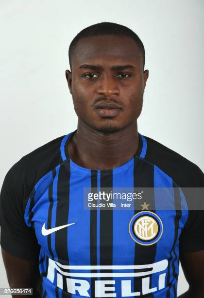 Stephen Danso of FC Internazionale poses on July 8 2017 in Reischach near Bruneck Italy