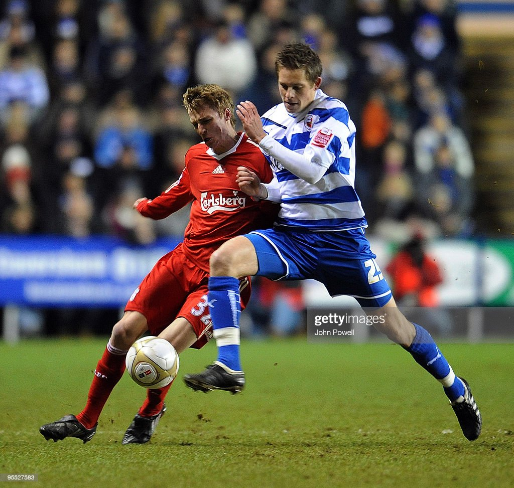 Reading v Liverpool - FA Cup 3rd Round : News Photo
