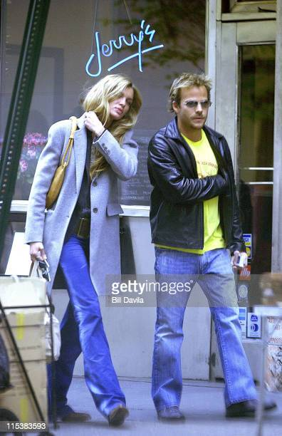Stephen Dorff and Esther Canadas take a stroll in Soho New York City