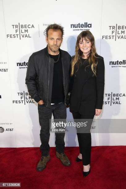 Stephen Dorff and Lorraine Nicholson attend the screening for Life Boat at the Tribeca Shorts Disconnected during the 2017 Tribeca Film Festival at...