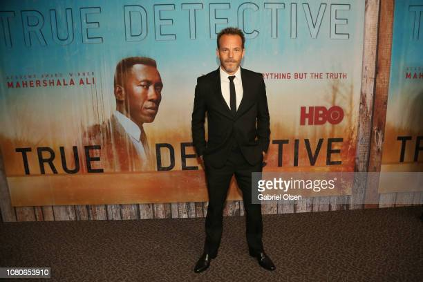 Stephen Dorff attends the premiere of HBO's True Detective Season 3 at Directors Guild Of America on January 10 2019 in Los Angeles California