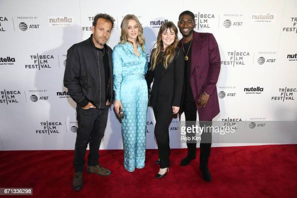 Stephen Dorff Elizabeth Gilpin Lorraine Nicholson and Kwame Boateng attend the screening for Life Boat at the Tribeca Shorts Disconnected during the...