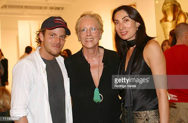 Stephen Dorff Iran IssaKhan Anh Duong during 'Art Loves Design' Celebration of Art Basel Miami at Miami Design District in Miami United States