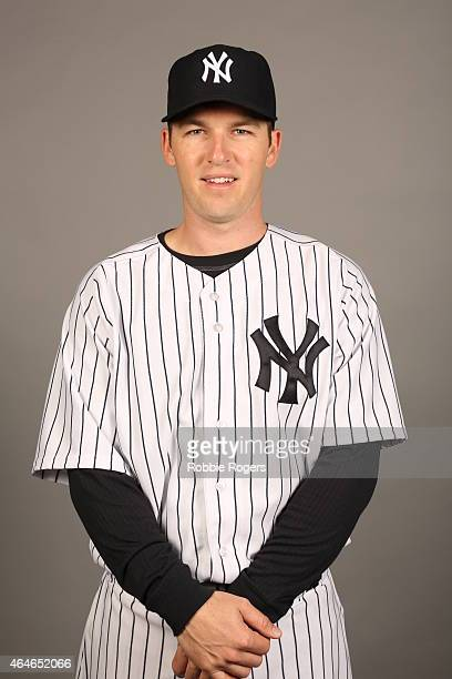 Stephen Drew of the New York Yankees poses during Photo Day on Friday February 27 2015 at George M Steinbrenner Field in Tampa Florida