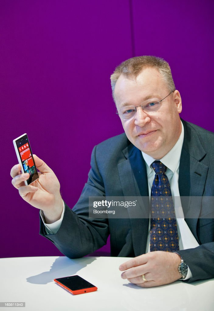 Exclusive Interview With Stephen Elop CEO Of Nokia Oyj