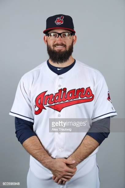 Stephen Fife of the Cleveland Indians poses during Photo Day on Wednesday February 21 2018 at Goodyear Ballpark in Goodyear Arizona