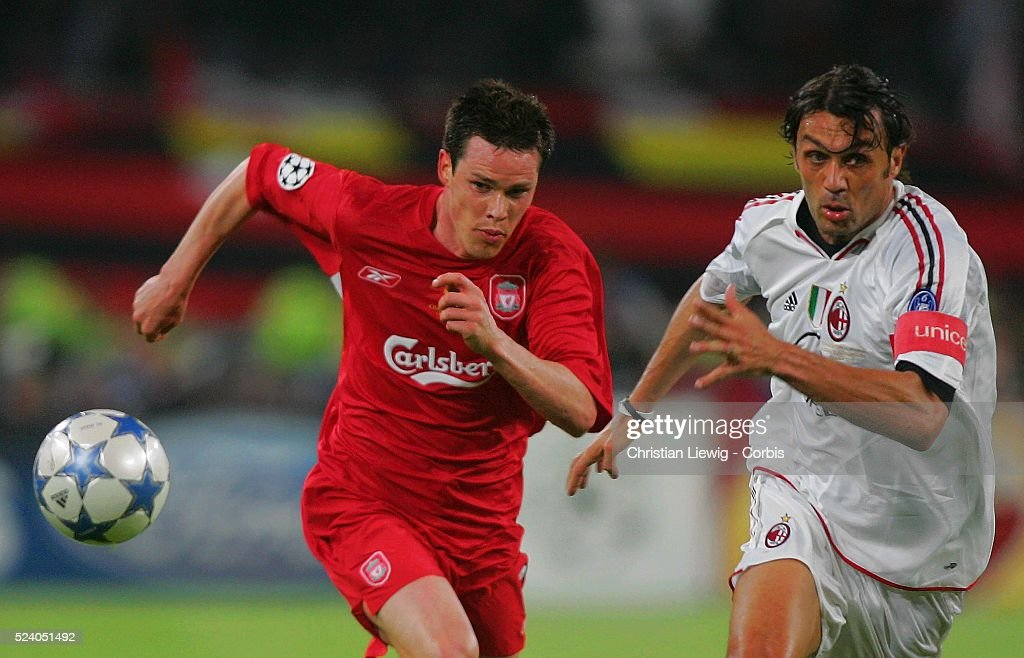 Soccer 2005 - UEFA Champions League Final - AC Milan vs FC Liverpool : News Photo