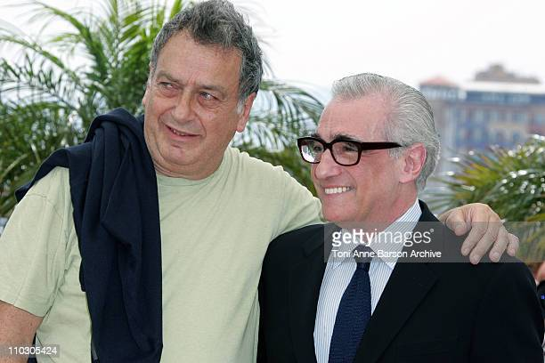 Stephen Frears and Martin Scorsese during 2007 Cannes Film Festival - World Cinema Foundation Photocall at Palais des Festivals in Cannes, France.