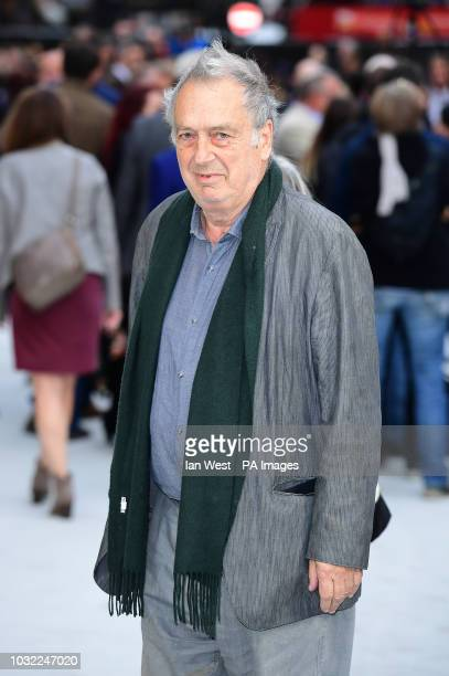 Stephen Frears arriving for the King of Thieves World Premiere held at Vue West End Leicester Square London