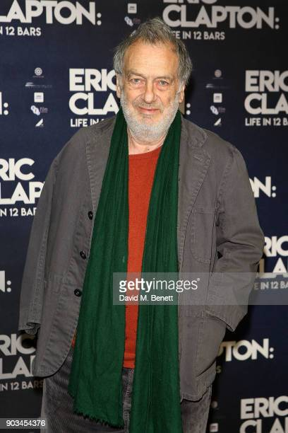 Stephen Frears attends the UK Premiere of 'Eric Clapton Life In 12 Bars' at BFI Southbank on January 10 2018 in London England