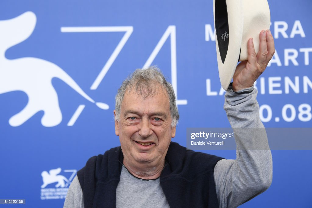 Stephen Frears attends the 'Victoria & Abdul And Jaeger-LeCoultre Glory To The Filmaker Award 2017' photocall during the 74th Venice Film Festival at Sala Casino on September 3, 2017 in Venice, Italy.
