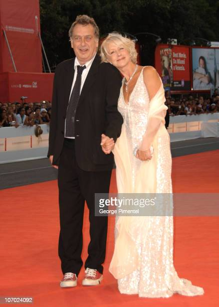 """Stephen Frears, director and Helen Mirren during The 63rd International Venice Film Festival - """"The Queen"""" Premiere - Arrivals at Palazzo Del Cinema..."""