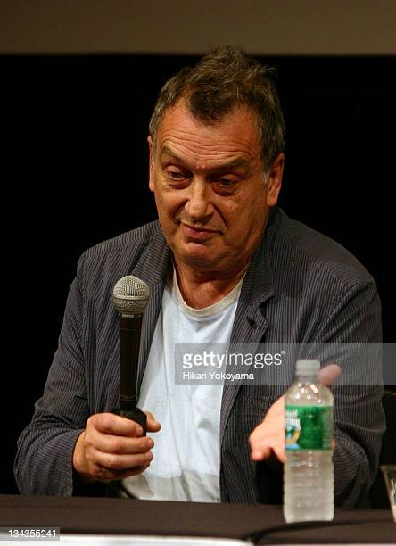 """Stephen Frears, director during New York Film Festival - """"The Queen"""" Press Conference at Walter Reade Theater in New York City, New York, United..."""