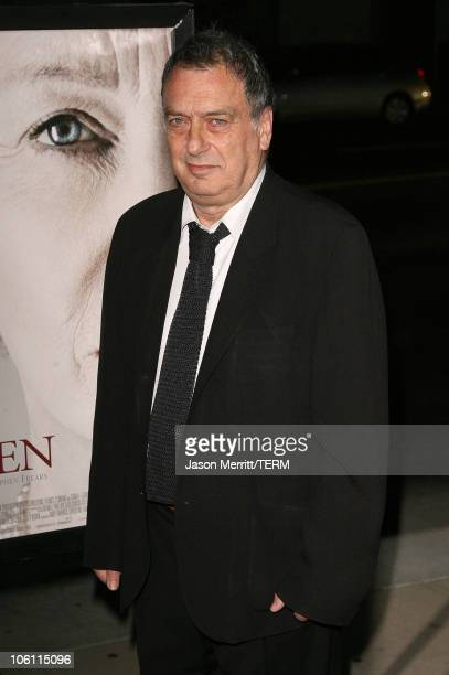 """Stephen Frears, director during """"The Queen"""" Los Angeles Premiere - Arrivals at Academy of Motion Picture Arts and Sciences in Beverly Hills,..."""