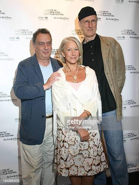 Stephen Frears, director, Helen Mirren, James Cromwell
