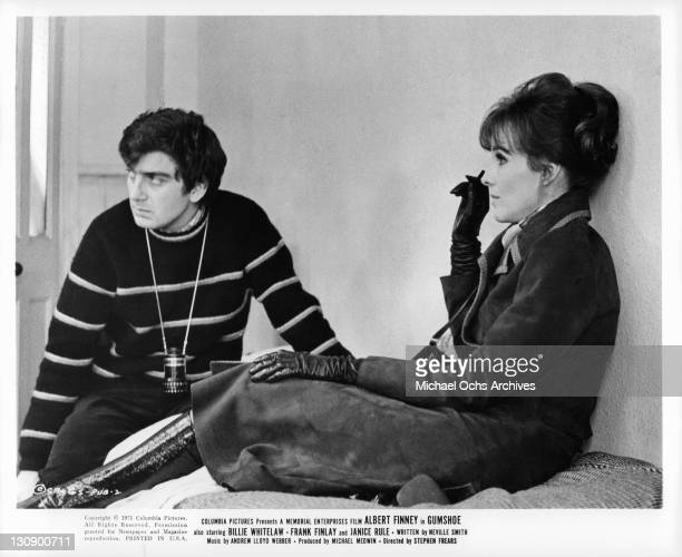 Stephen Frears discusses a scene with Janice Rule for the film 'Gumshoe' 1971