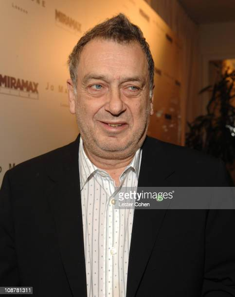 """Stephen Frears during Miramax Films and British Fragrance House Jo Malone Join to Celebrate 2007 Oscar-Nominated Films """"The Queen"""" and """"Venus"""" at..."""