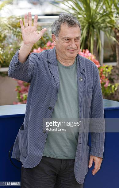 Stephen Frears, president of the jury during 2007 Cannes Film Festival - Jury Photocall at Terrasse Riviera in Cannes, France.