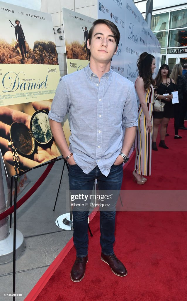 Stephen Fristschle attends the premiere of Magnolia Pictures' 'Damsel' at ArcLight Hollywood on June 13, 2018 in Hollywood, California.