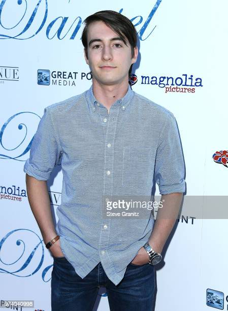 Stephen Fritschle arrives at the Magnolia Pictures' 'Damsel' Premiere at ArcLight Hollywood on June 13 2018 in Hollywood California