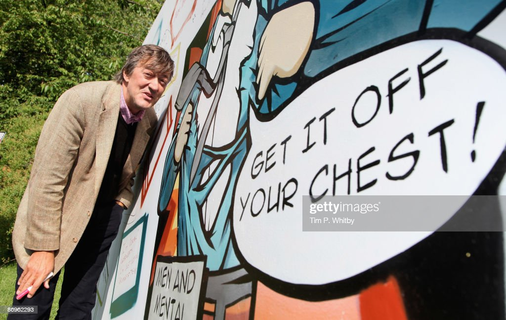 Stephen Fry And Alistar Campbell Photocall : News Photo