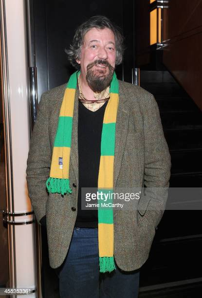 Stephen Fry attends the after party of New Line Cinema and MGM Pictures screening of 'The Hobbit The Desolation Of Smaug' hosted by the Cinema...