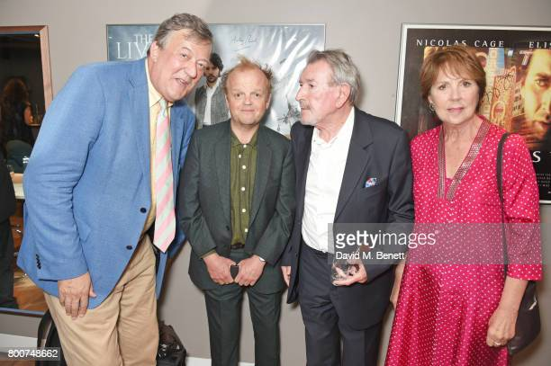 Stephen Fry Toby Jones Gawn Grainger and Dame Penelope Wilton attend the BFI Southbank's tribute to Sir John Hurt on June 25 2017 in London England