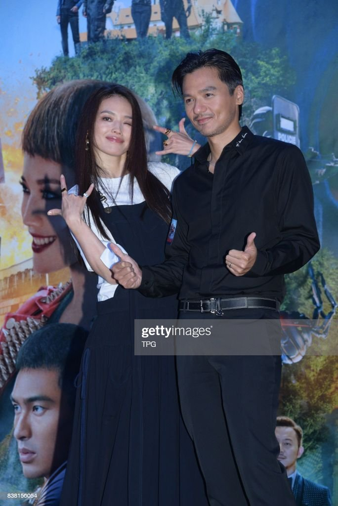 Shu Qi and Stephen Fung : News Photo