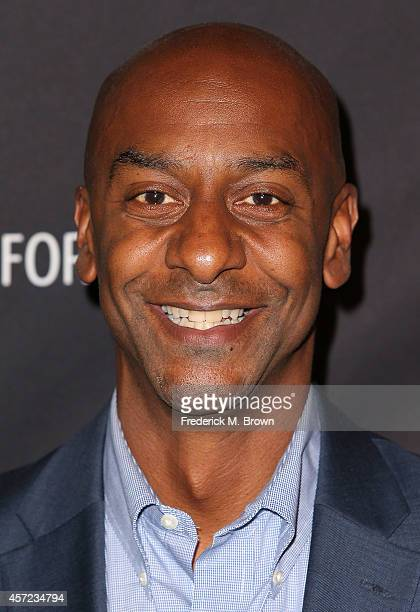 Stephen G Hill/President of Music Programming and Specials/BET Networks attends The Paley Center for Media Presents An Evening with Real Husbands of...