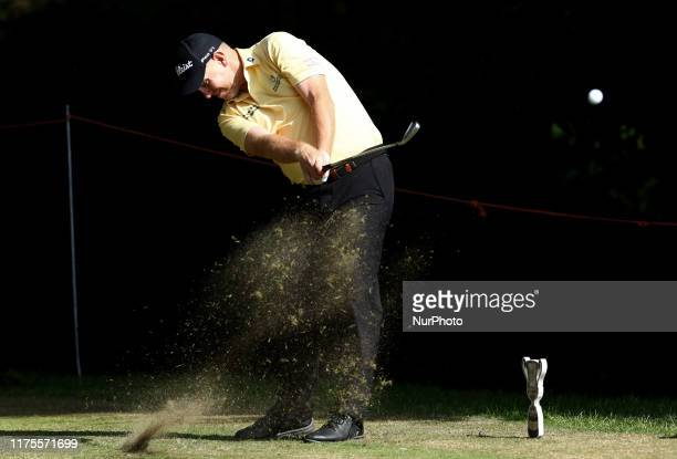 Stephen Gallacher during the Round 4 at Golf Italian Open in Rome Italy on October 13 2019