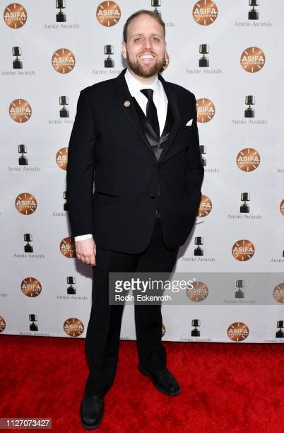 Stephen Gallant attends the 46th Annual Annie Awards at Royce Hall UCLA on February 02 2019 in Westwood California