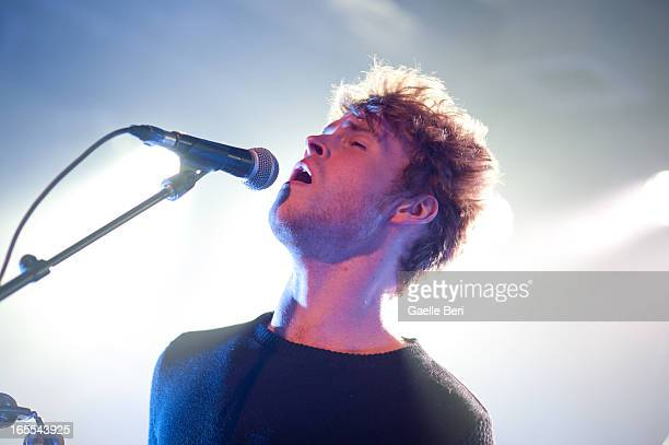 Stephen Garrigan of Kodaline performs on stage at Scala on April 4, 2013 in London, England.