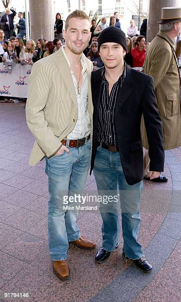 Stephen Gately and partner Andrew Cowles
