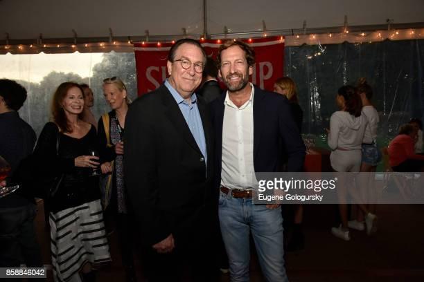 Stephen Gaydos Kevin Ulrich attend Lifetime Achievement Award Reception at Suna Residence during Hamptons International Film Festival 2017 Day Three...