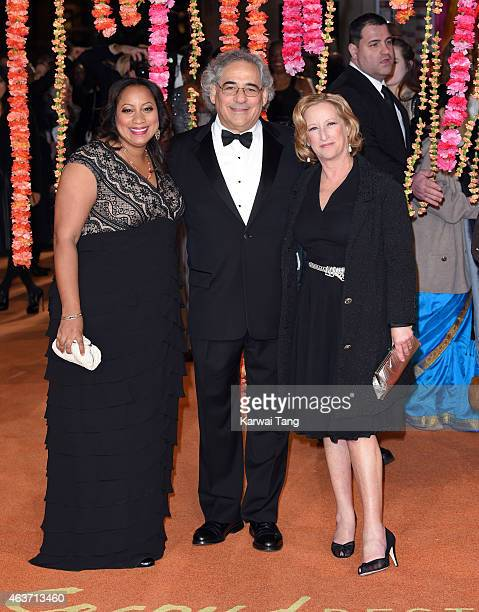Stephen Gilula and Nancy Utley attend The Royal Film Performance and World Premiere of 'The Second Best Exotic Marigold Hotel' at Odeon Leicester...