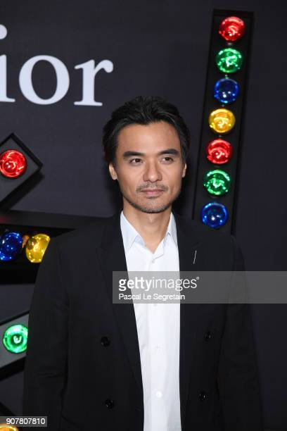 Stephen Gin Fung attends Dior Homme Menswear Fall/Winter 20182019 show as part of Paris Fashion Week at Grand Palais on January 20 2018 in Paris...