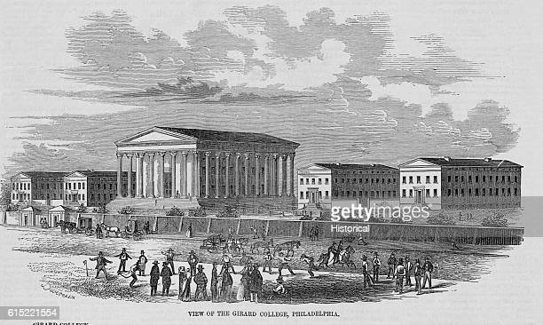 Stephen Girard founded the Girard College near Philadelphia Pennsylvania for the education of orphans The building was constructed from July 4 1833...