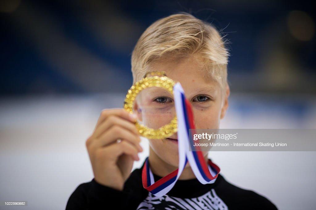 ISU Junior Grand Prix of Figure Skating - Bratislava : News Photo