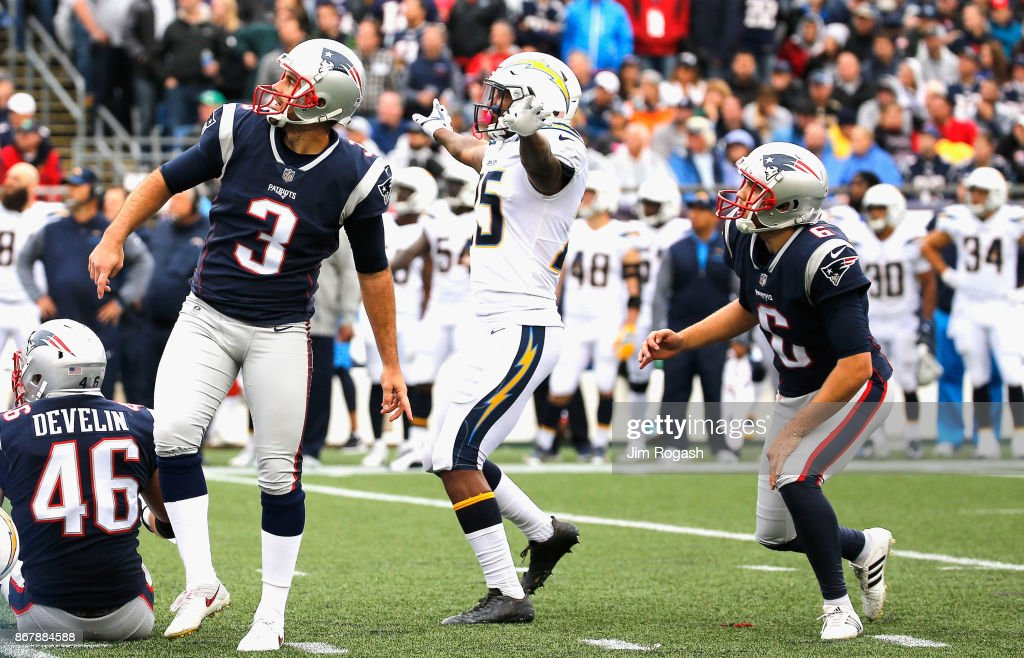 Los Angeles Chargers v New England Patriots : News Photo