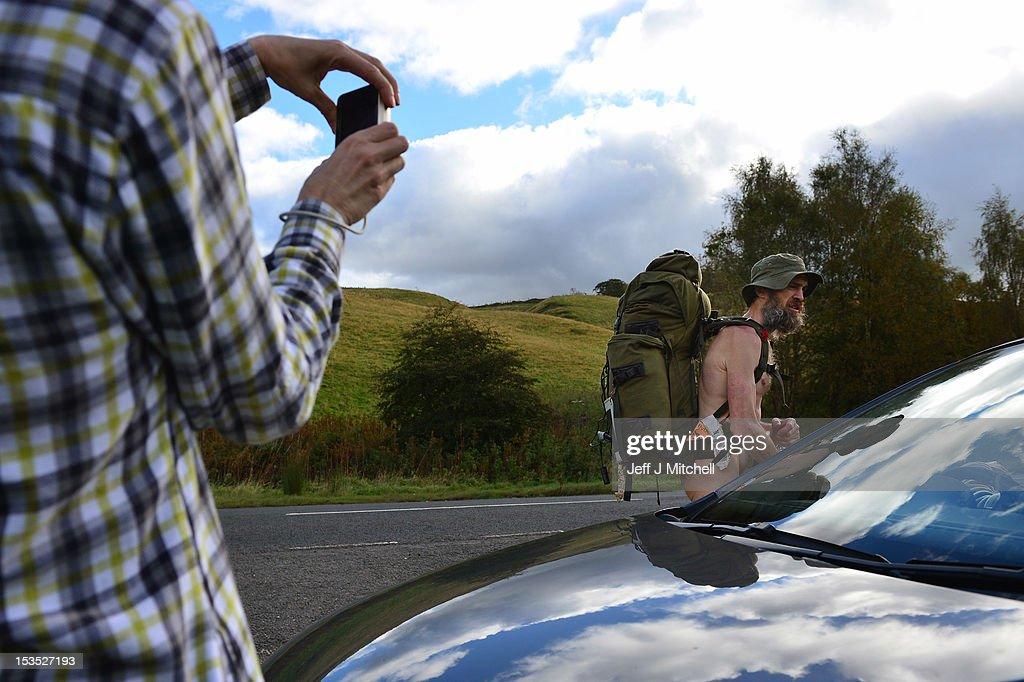 Naked rambler Stephen Gough heads south after prison