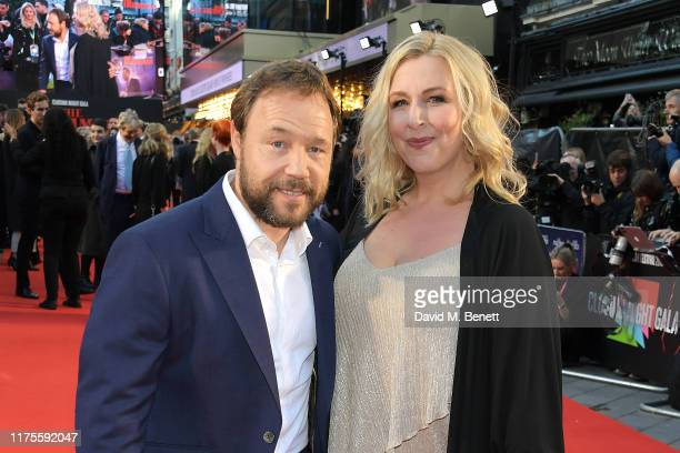 Stephen Graham and Hannah Walters attend the International Premiere and Closing Night Gala screening of NETFLIX's The Irishman during the 63rd BFI...