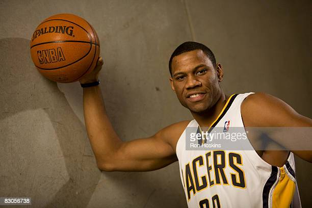 Stephen Graham of the Indiana Pacers poses for a portrait during NBA Media Day on September 29, 2008 at Conseco Fieldhouse in Indianapolis, Indiana....