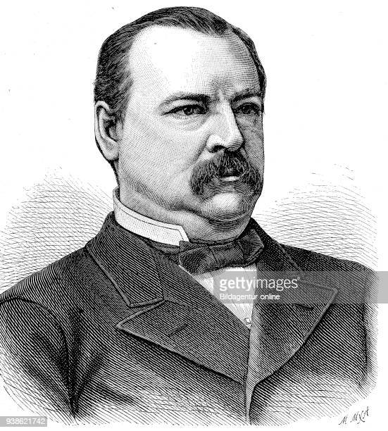 Stephen Grover Cleveland 1837 1908 was an American politician and lawyer who was the 22nd and 24th President of the United States digital improved...