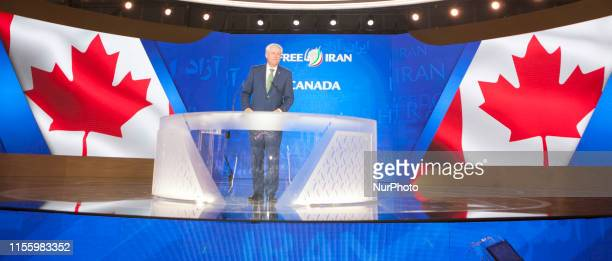 Stephen Harper Duress Albania The annual Free Iran Conference for the first time at Ashraf 3 the headquarters of the Peoples Mojahedin Organization...